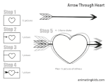 Arrow Through Heart Recipe