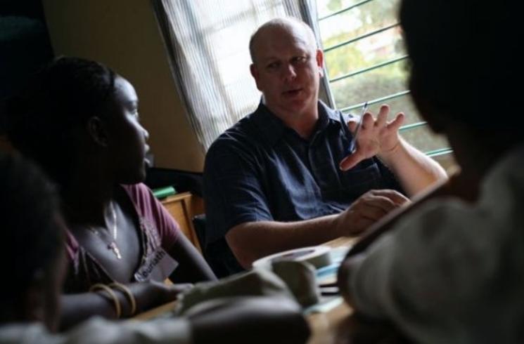 Mentoring Young Animators - Kigali Rwanda