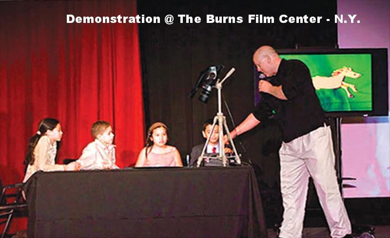 N.Y. Burns Film Center Demonstration