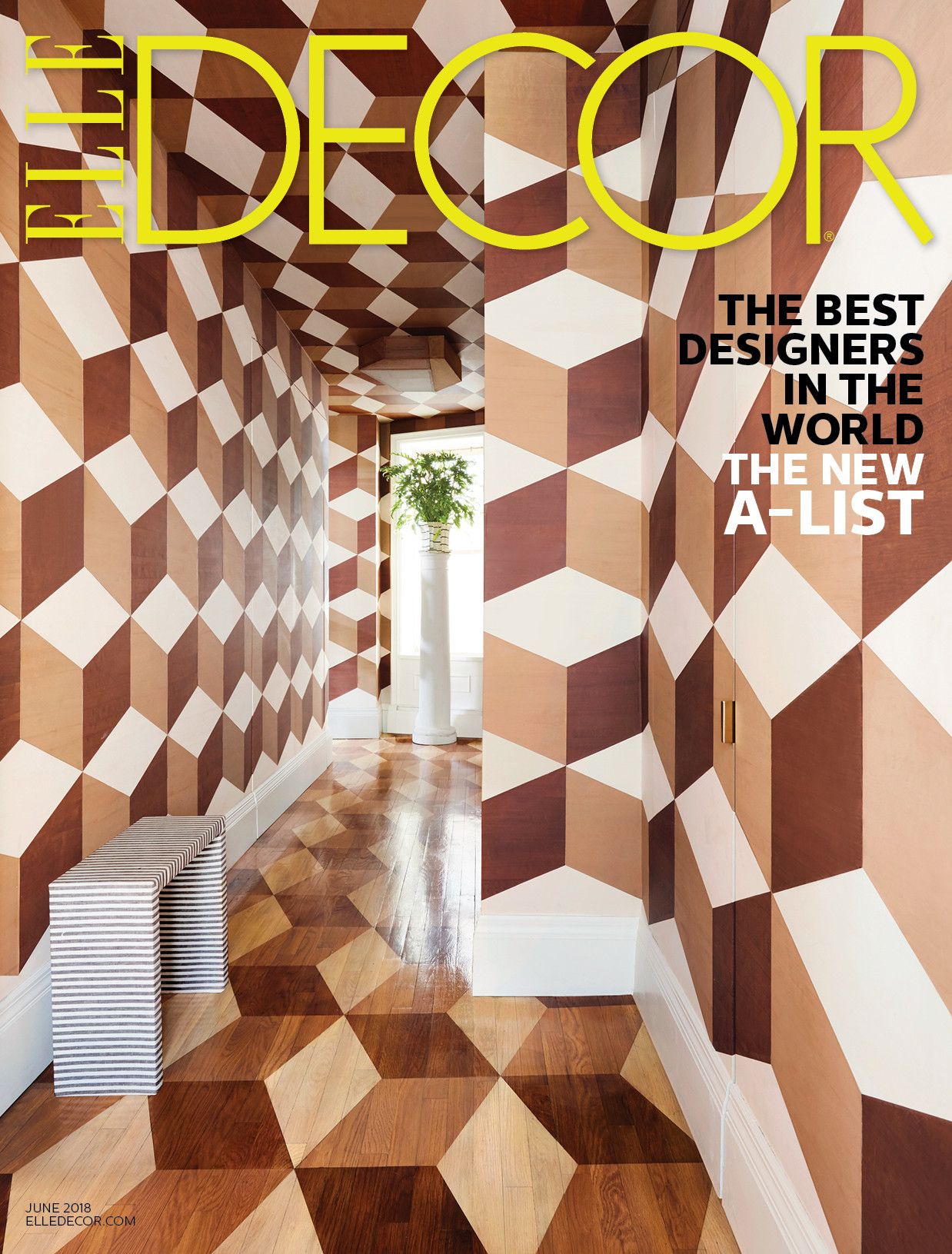 ELLE DECOR, JUNE 2018