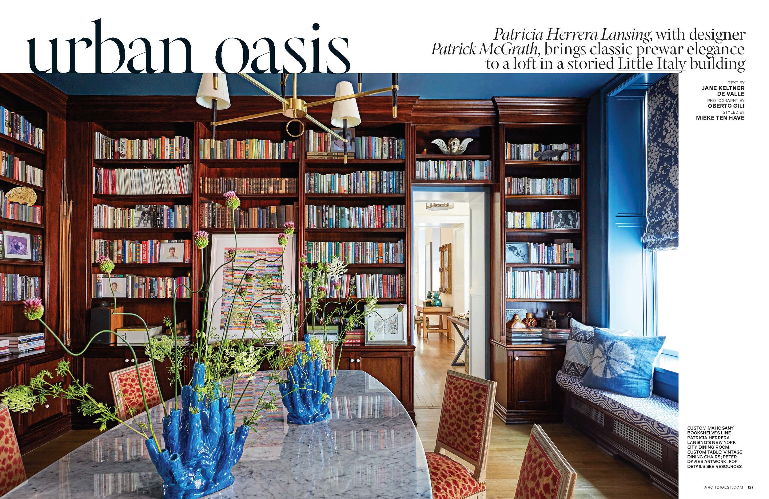 ARCHITECTURAL DIGEST, MAY 2019