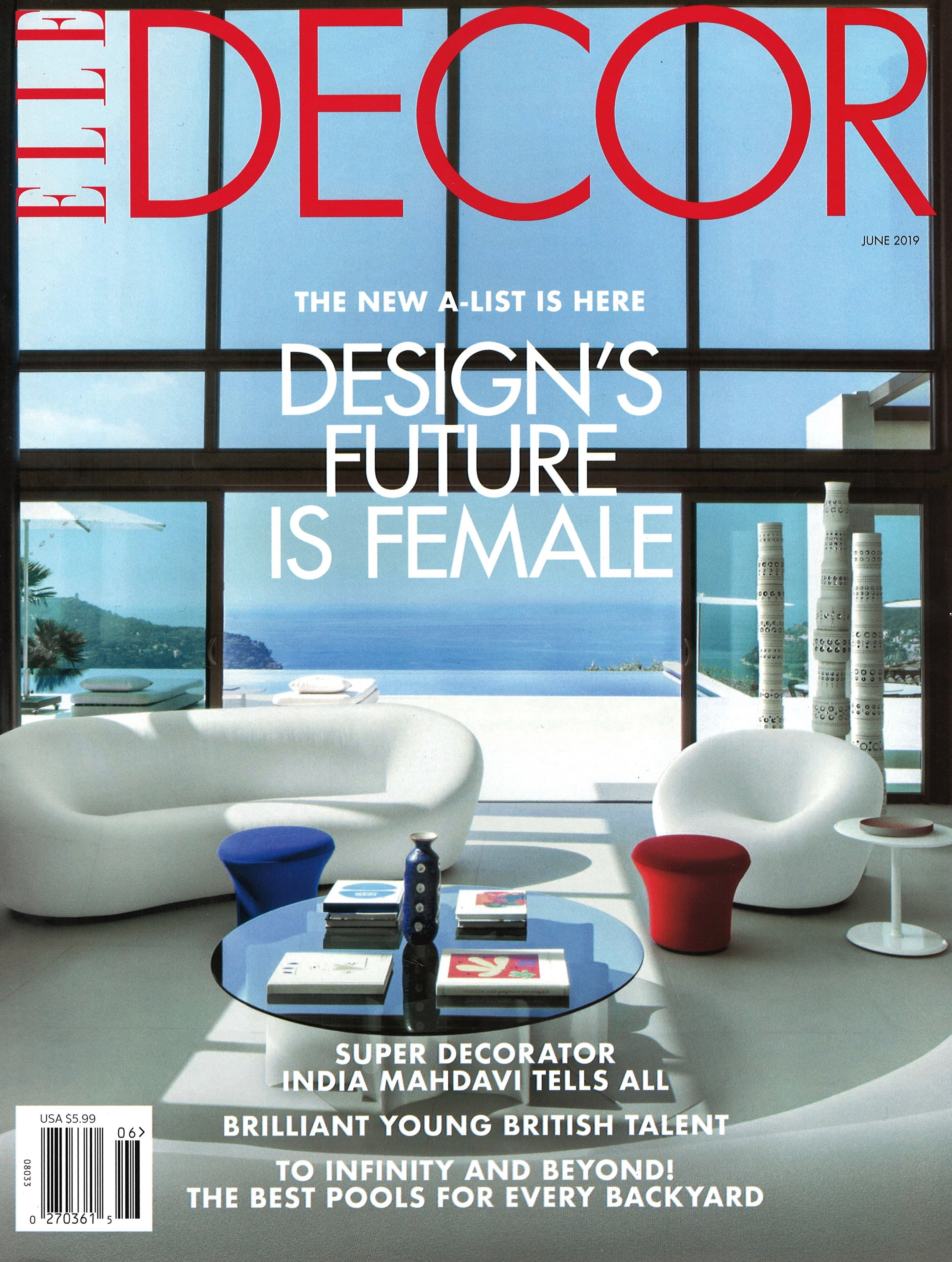 ELLE DECOR, JUNE 2019