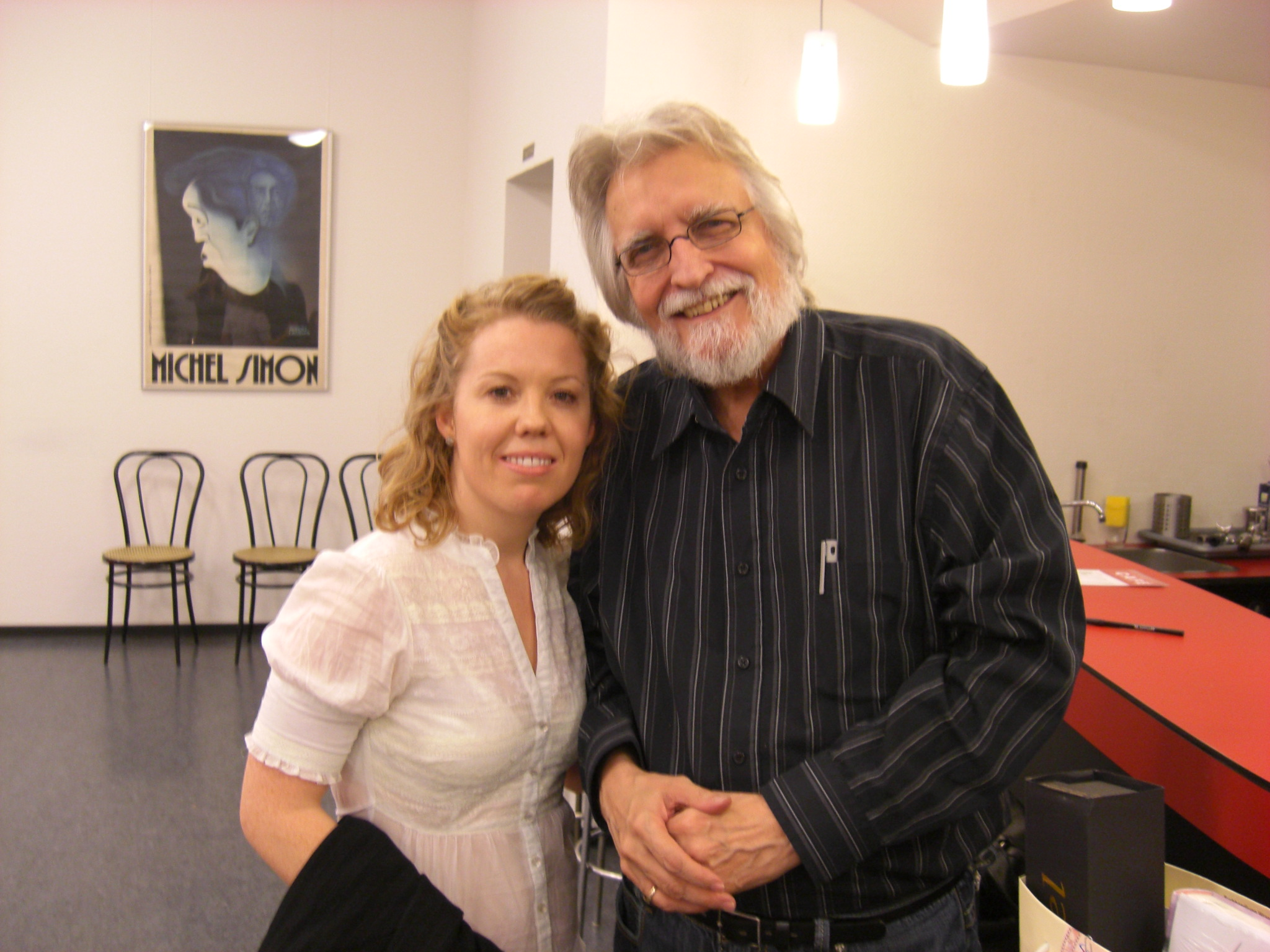 Zoe Golightly and Neale Donald Walsch 2007 Film Festival with Spiritual Warriors