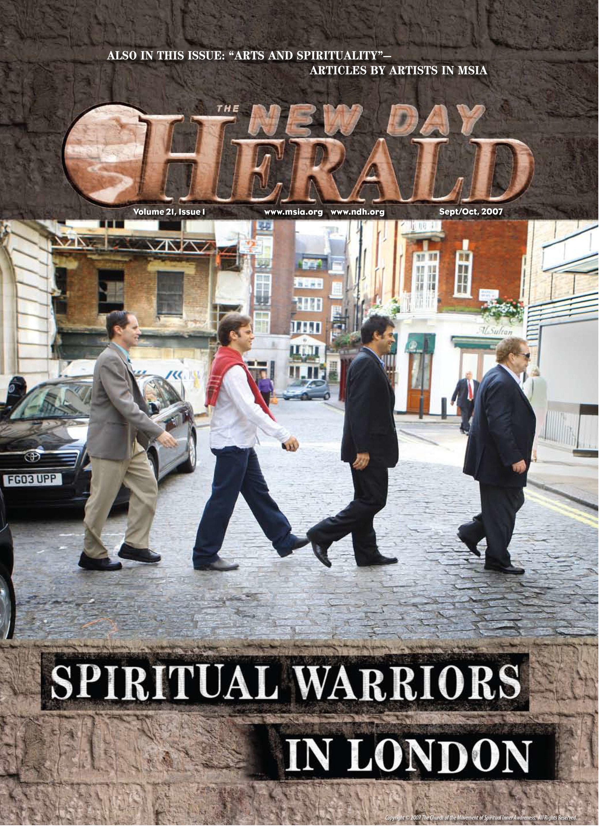 Spiritual Warriors Tour 2007