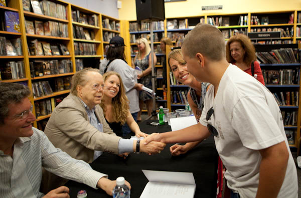 Book signing at Mystic Journey Book Store 2010