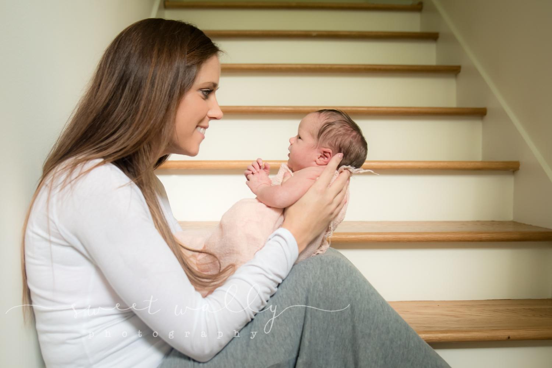 First Conversations | Newborn Photographer Nashville | Sweet Wally Photography