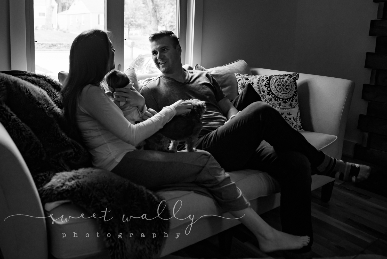 Family Newborn Session | Sweet Wally Photography | Nashville Newborn Photographer