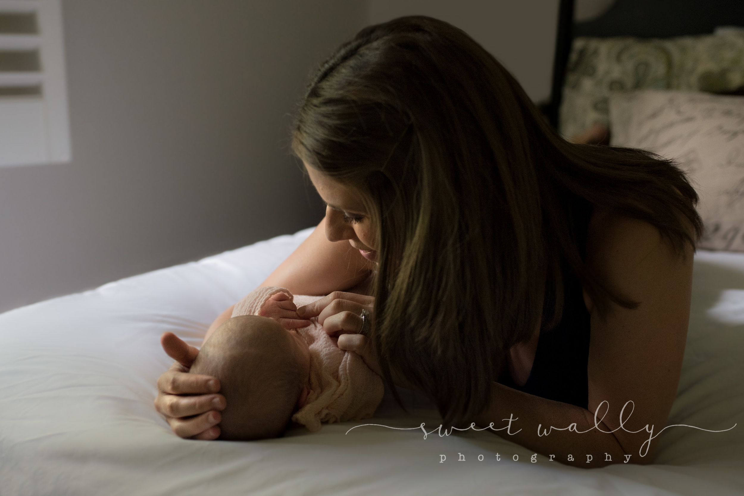 She got her girl | Lifestyle Newborn Session | Nashville Newborn Photographer | Sweet Wally Photography