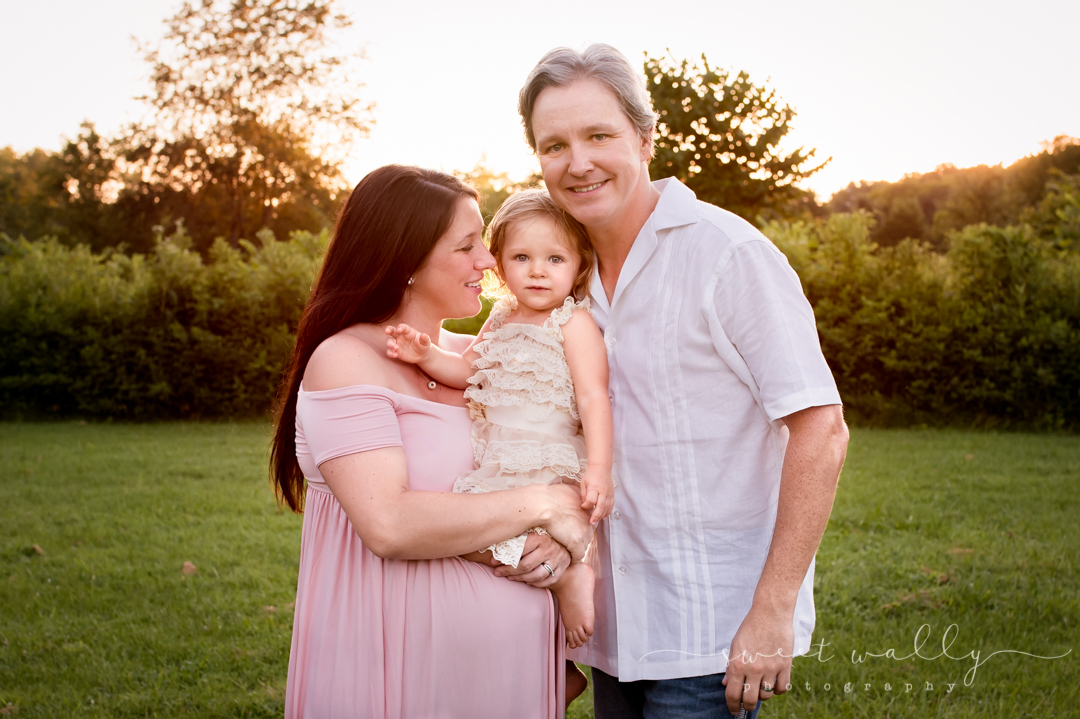 On the brink of family of four | Sweet Wally Photography | Nashville Maternity Photographer