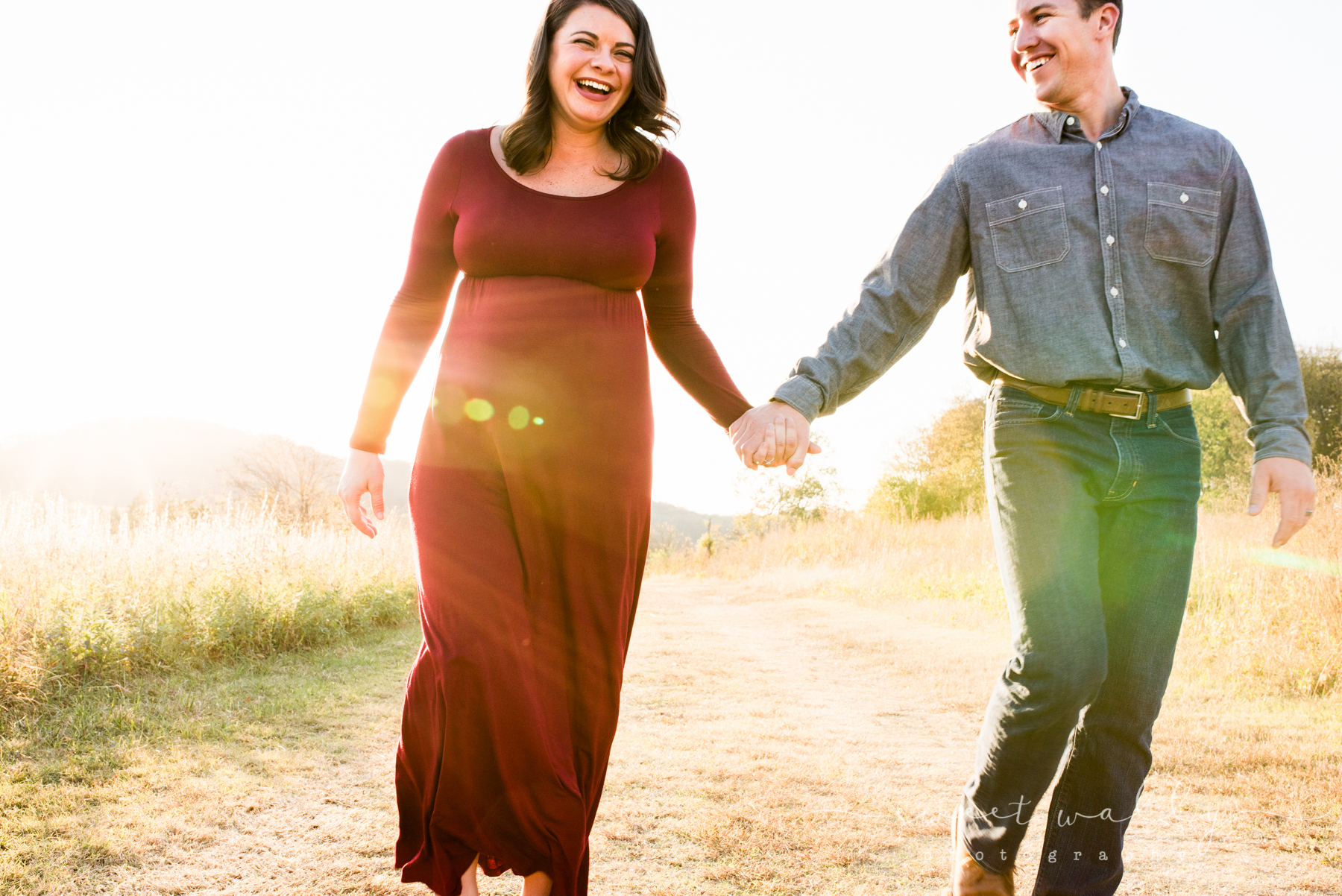 Those who laugh together, stay together | Maternity Photographer | Nashville, TN | Sweet Wally Photography