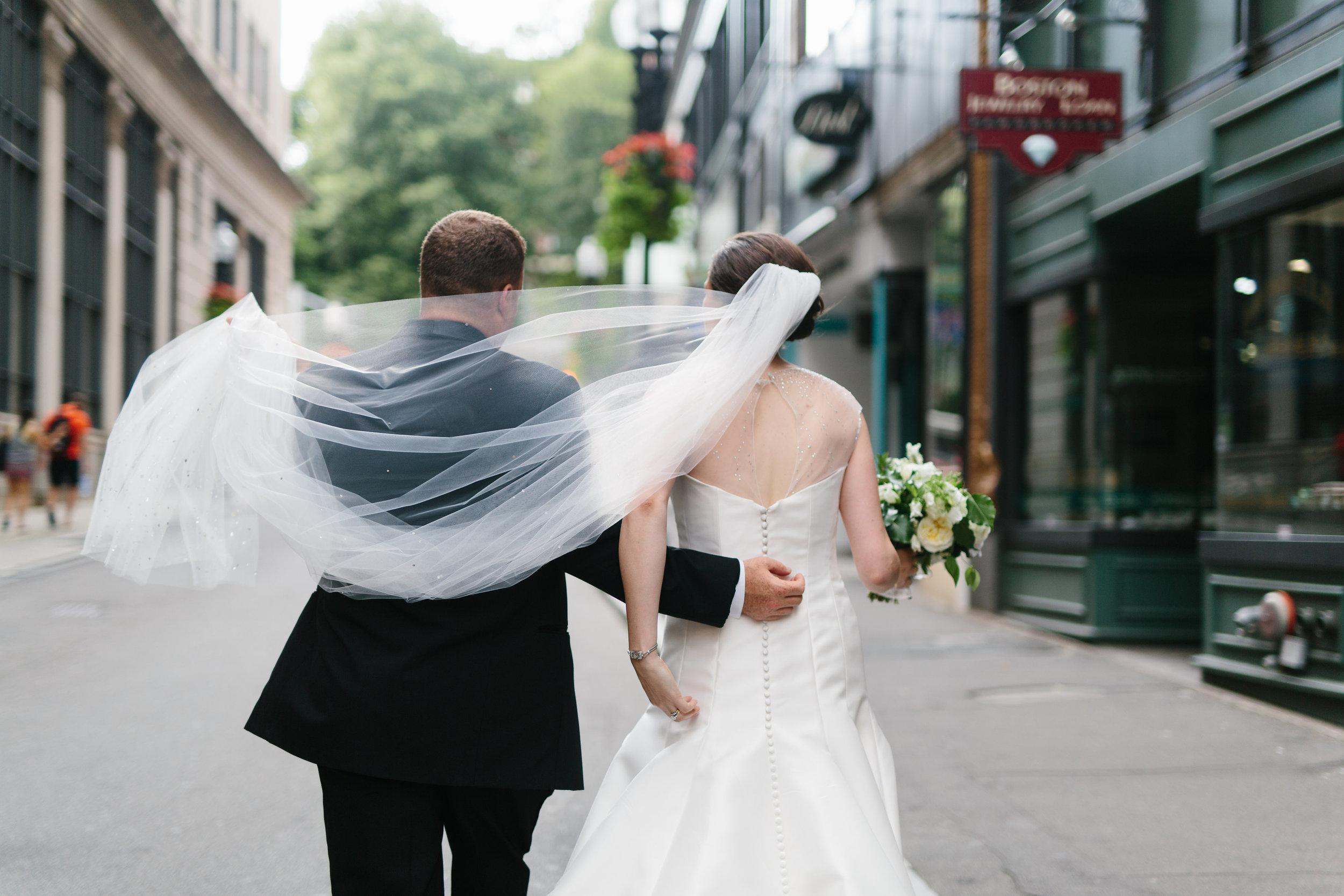 Ellie and Brandon - Downtown Boston Summer wedding