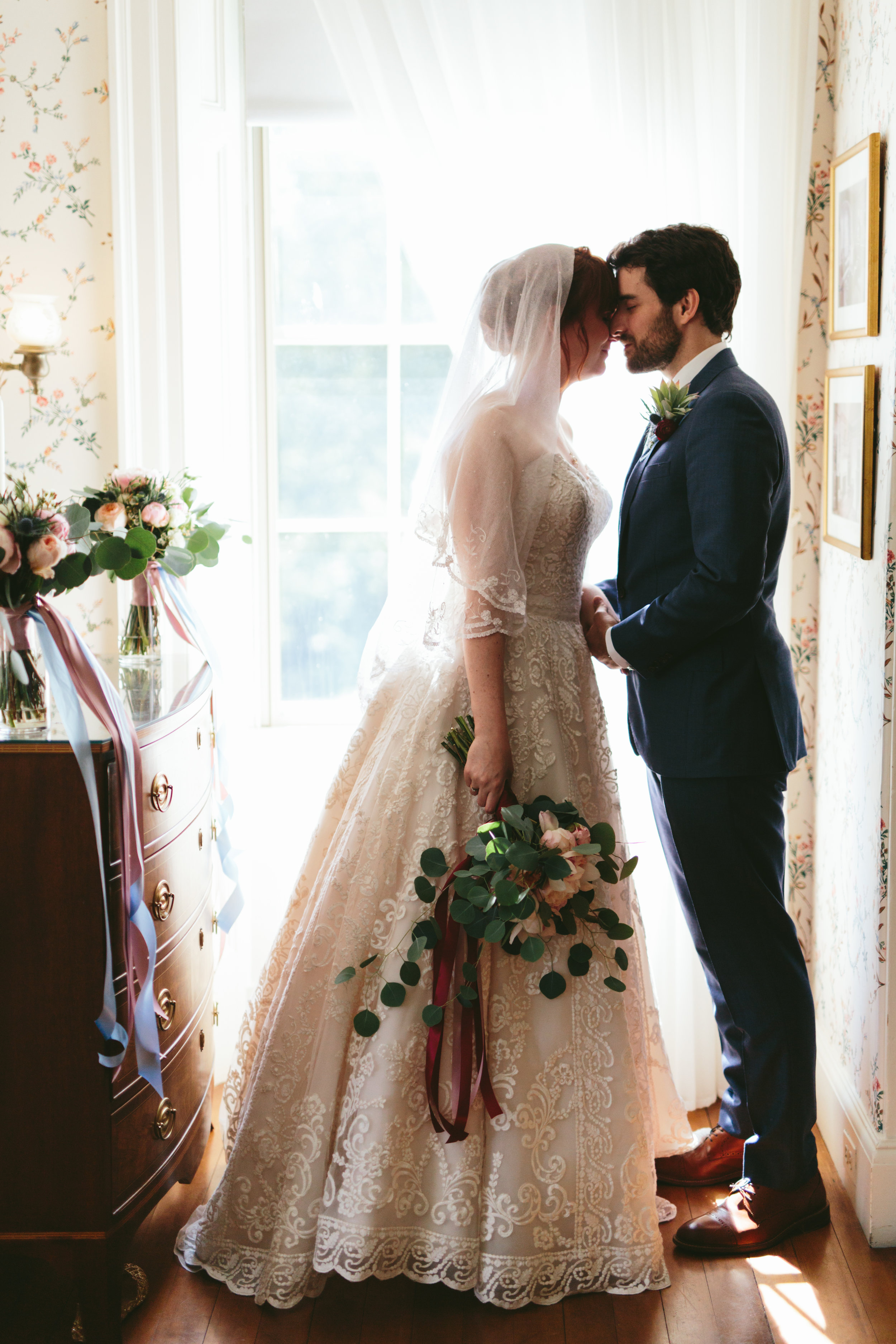 Lauren and Chris - June wedding at The Lyman Estate, Waltham, MA