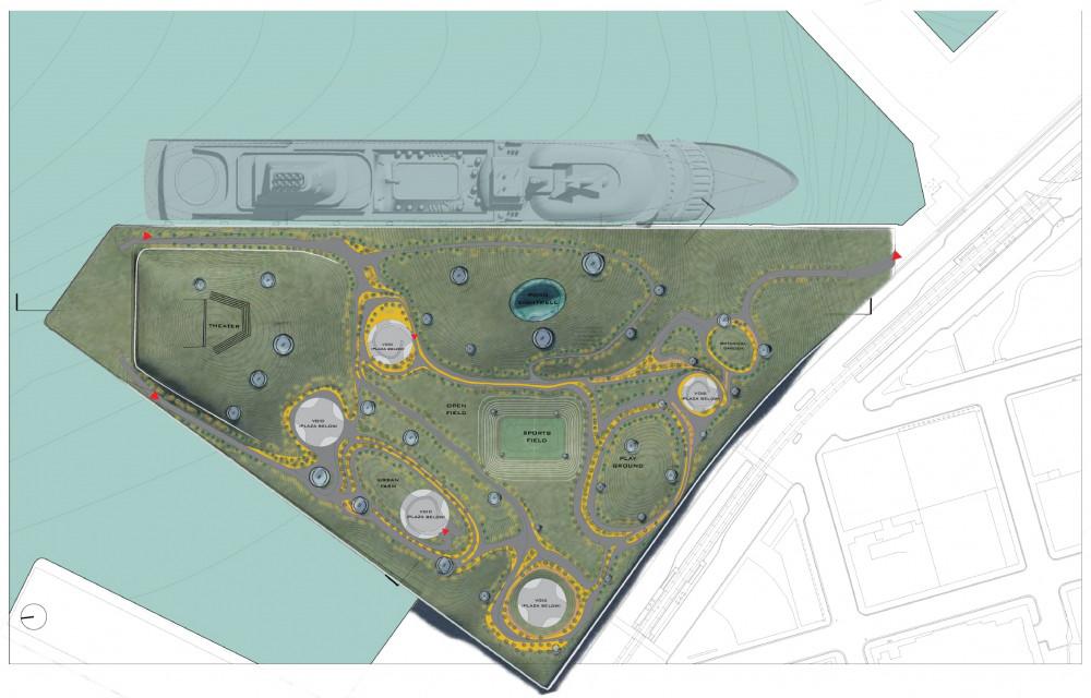 Roof/Park Plan
