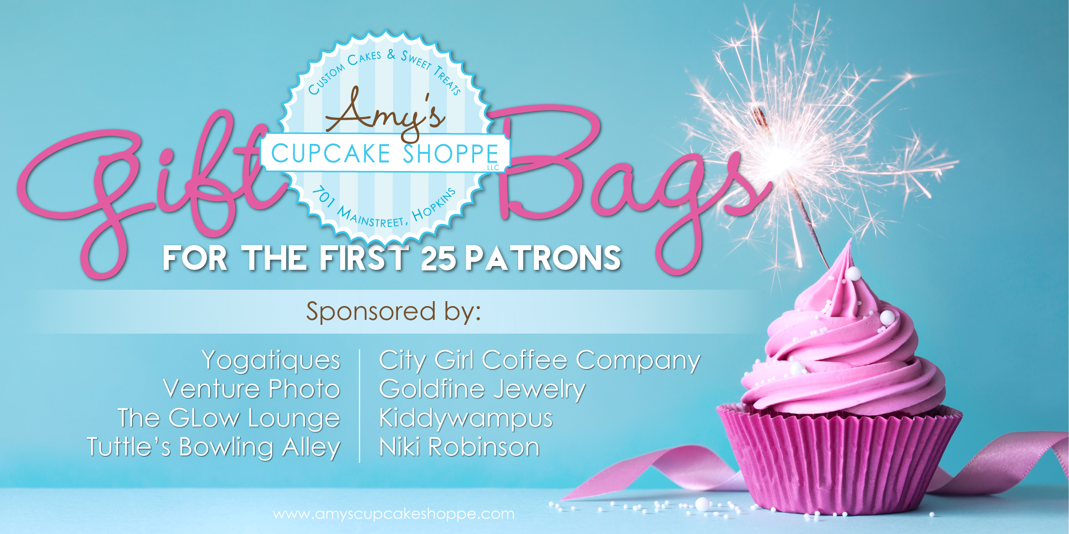 Amy's Cupcake Shoppe Grand Opening