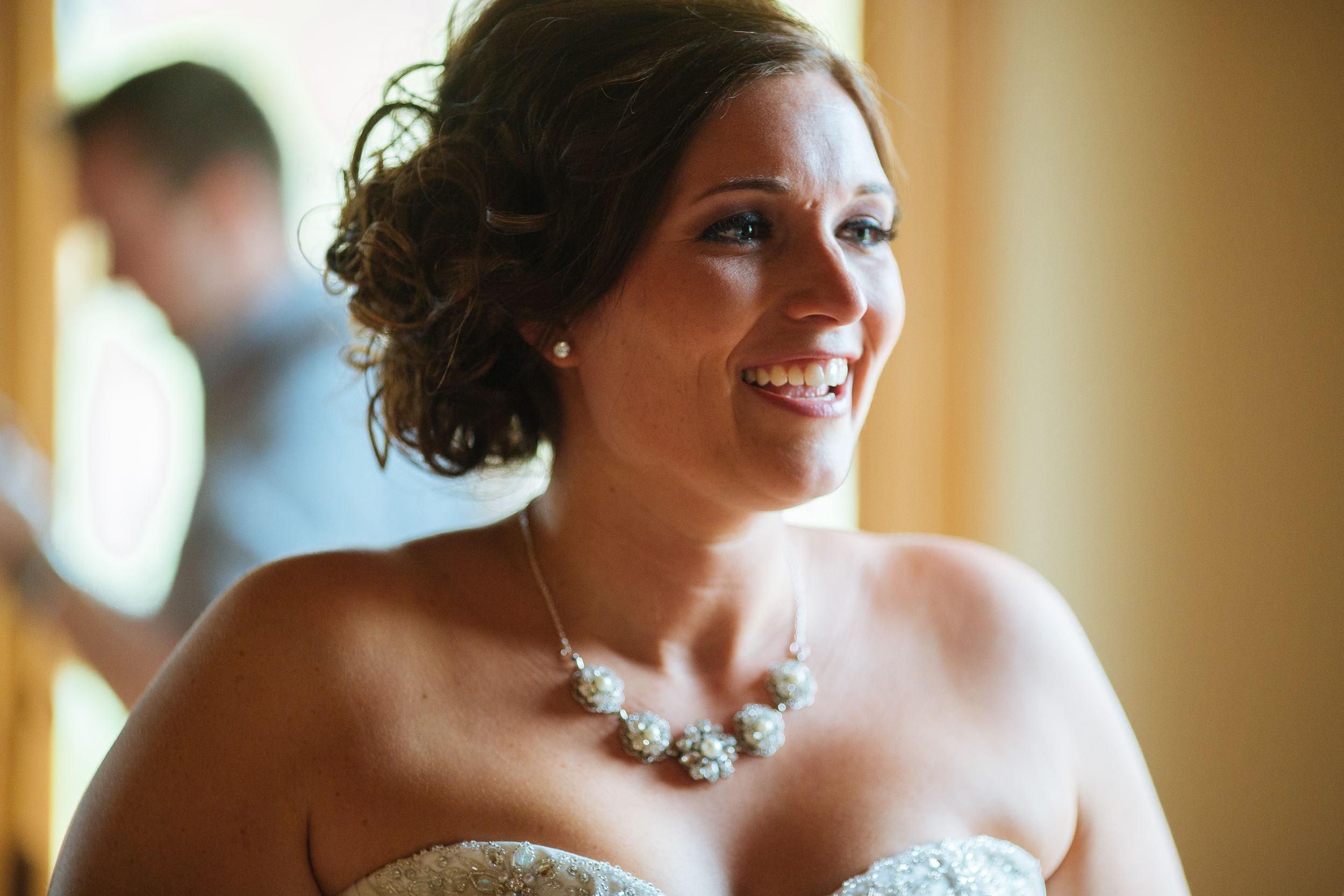Alyssa Lee Photography | Bride getting ready, anticipation | Sixpence Standard Blog