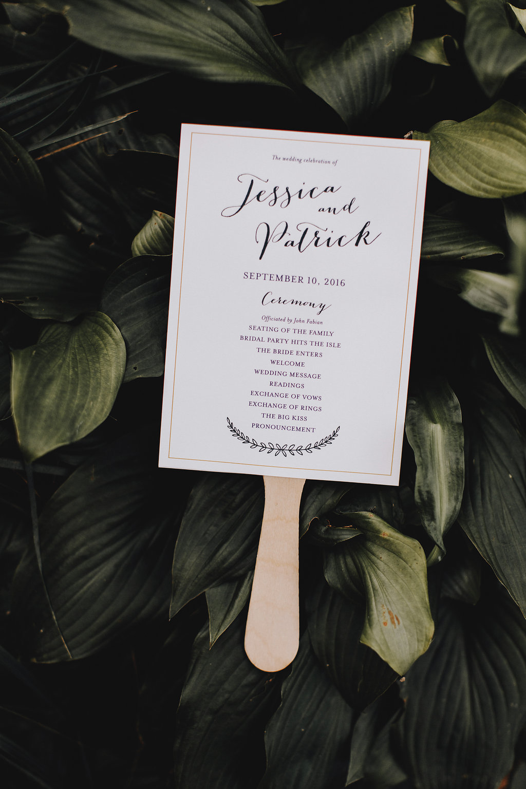 Fan program  | Acowsay Videography | Matt Lien Photography | Sixpence Standard Wedding Blog