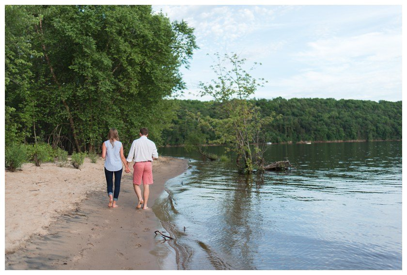 Engagement Session on the river bank with Lumos Photography | Sixpence Events & Planning Blog Post