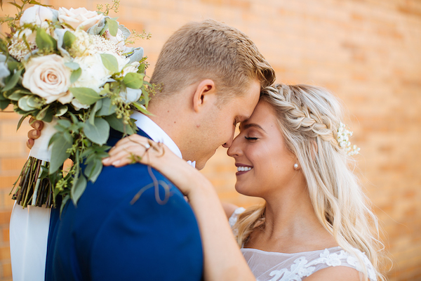 Hailey and Hunter church wedding | Alyssa Lee Photography | Day of Coordinating by Josey of Sixpence Events