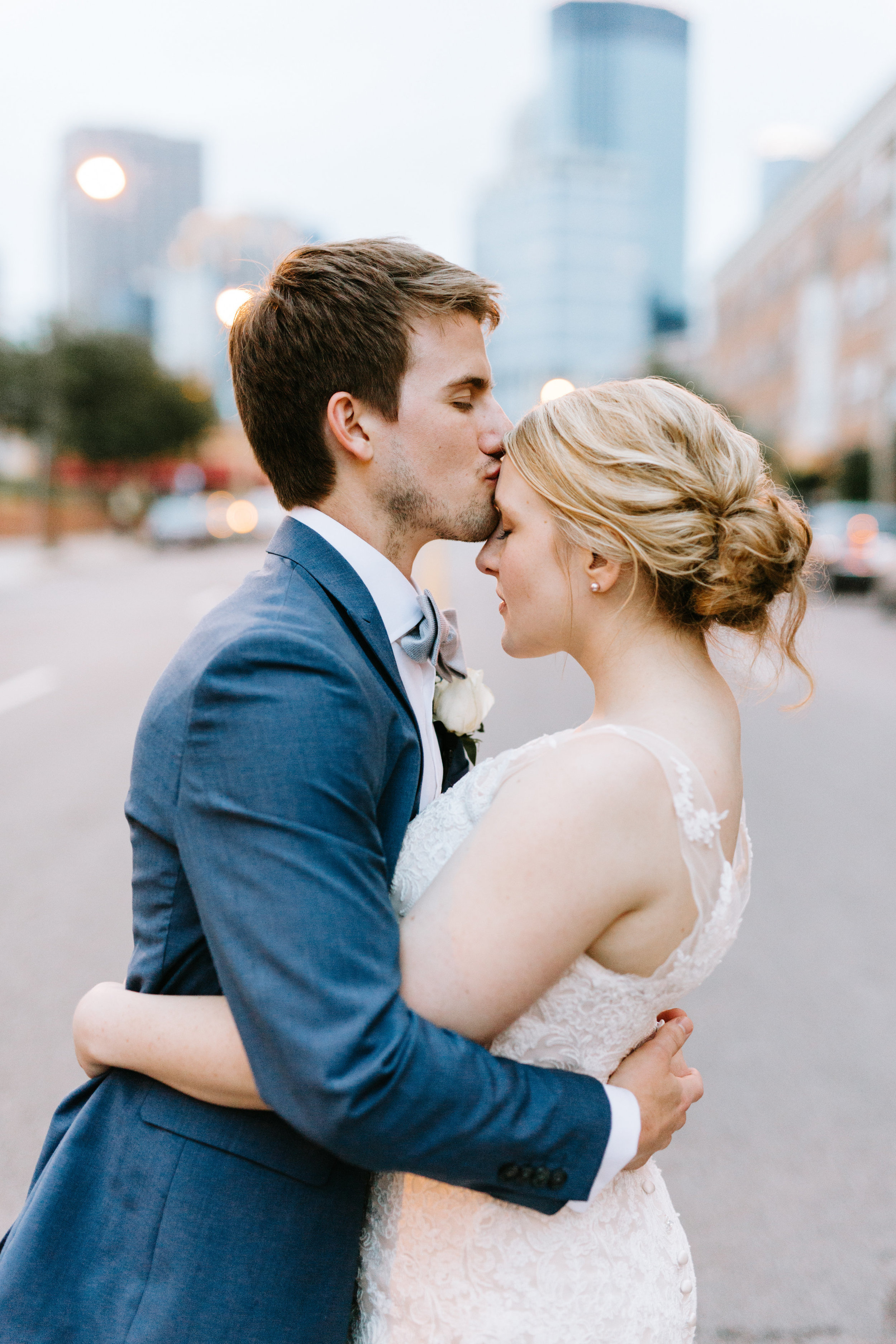 Lydia and Michael photo by Kate Becker Minneapolis wedding | Day of Coordinating at Loring Social by Sixpence Events & Planning