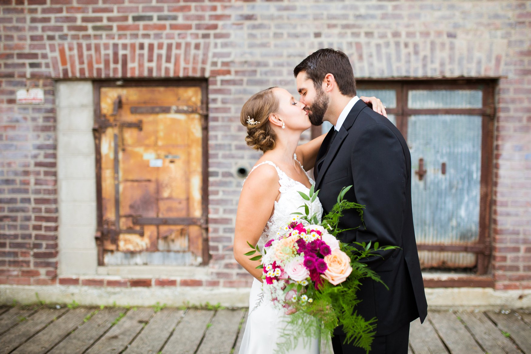 Kaylie and Travis wedding at Day Block | KH Studio Photography | Sixpence Events Wedding Planning
