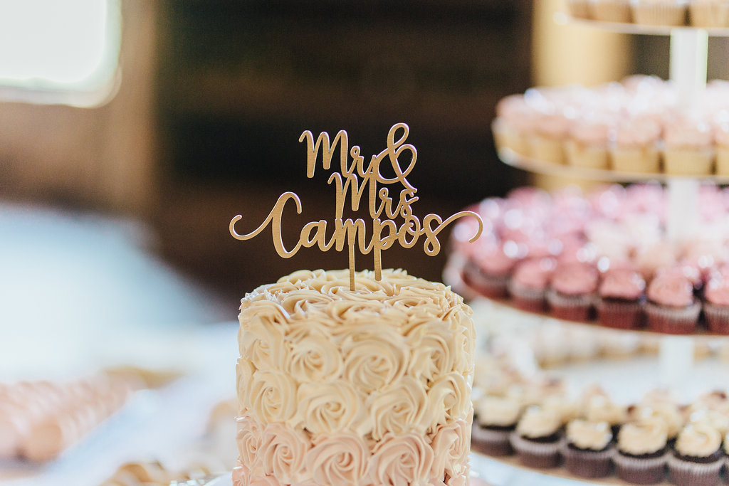 mini cupcakes tiered  | Aaron T Photography | Nicollet Island Pavilion | Sixpence Events & Planning wedding blog