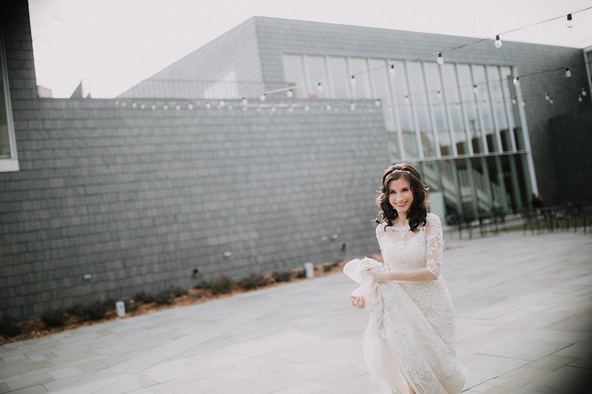 bride happy after getting married | Brian Bossany Photography | Sixpence Events & Planning wedding blog and day of coordinating