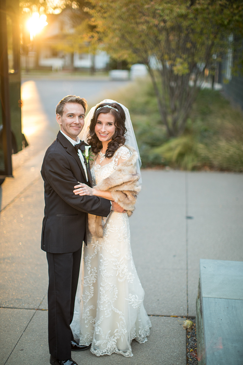 bride and groom just married trolley ride | Brian Bossany Photography | Sixpence Events & Planning wedding blog and day of coordinating