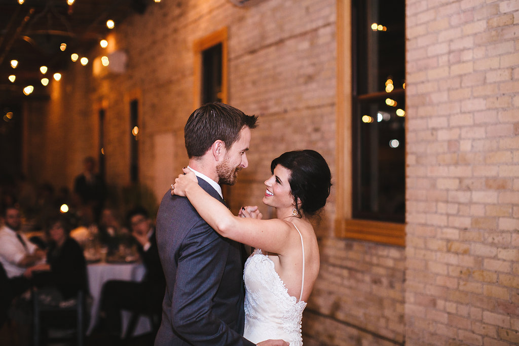 Aaron Rice Photography   Annunciation Ceremony   Day Block Wedding Reception   Sixpence Events and Planning Minnesota Wedding planner   first dance