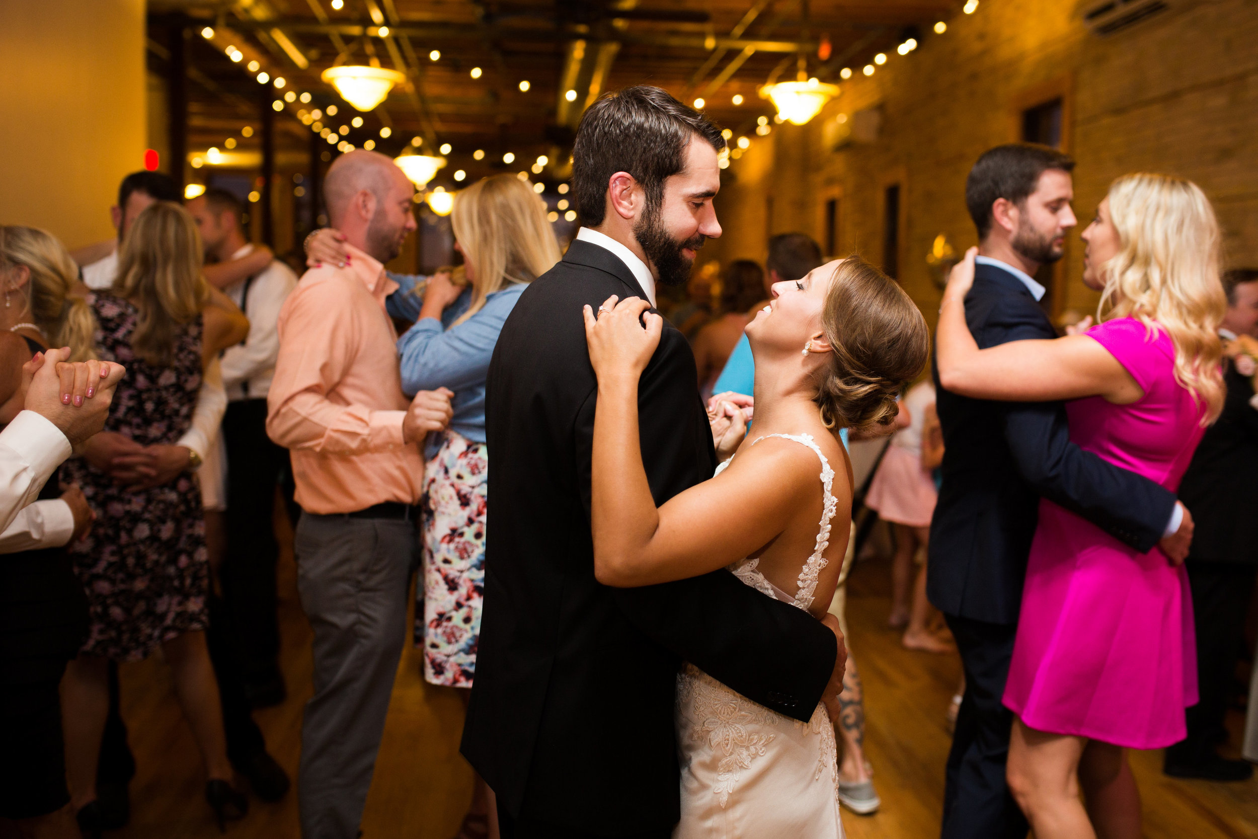 Kaylie + Travis | Sixpence Events wedding planner in the midwest | Studio KH photography | couples dance pictures