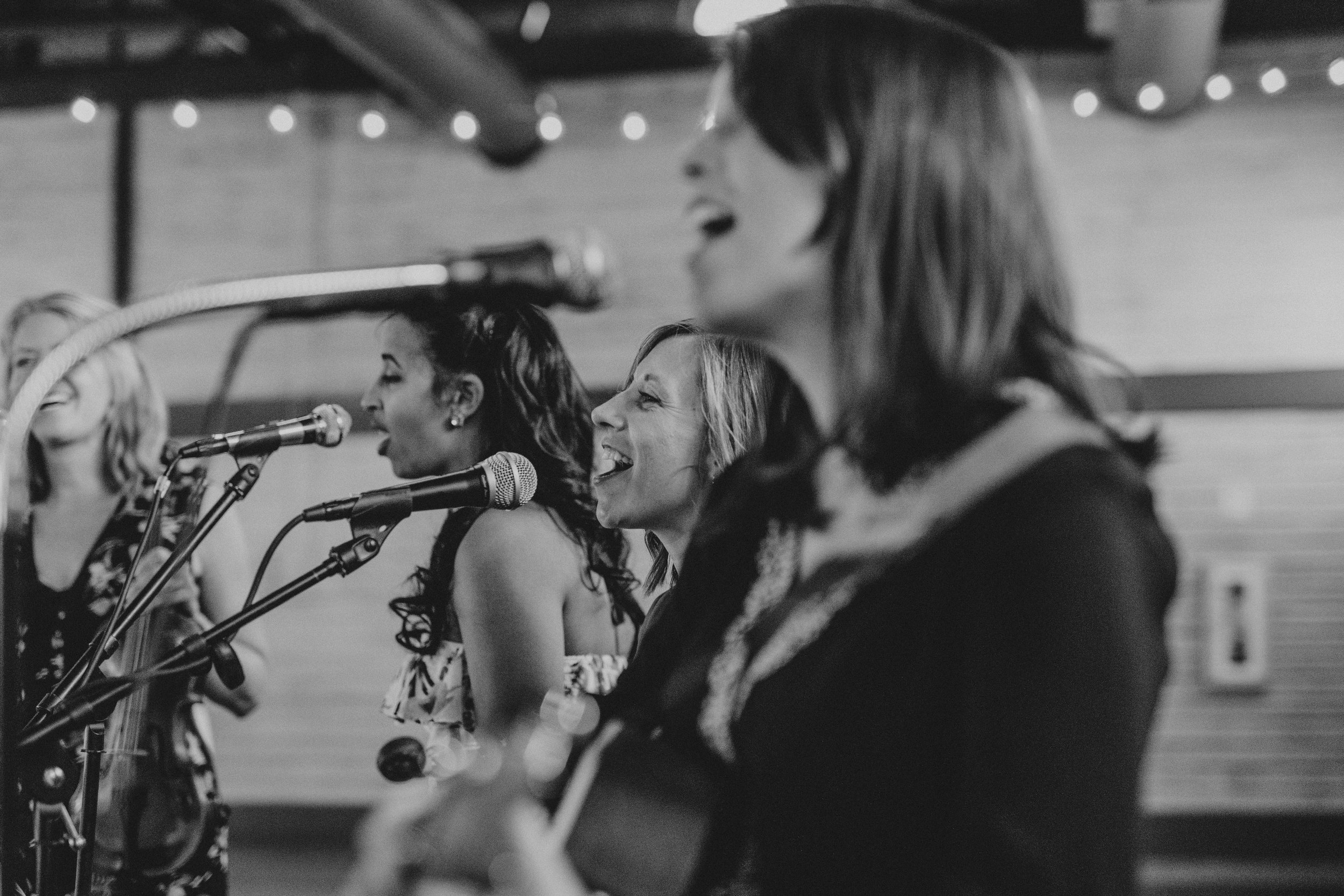 Dusty Porch Sisters | Russell Heeter Photography :: Minneapolis wedding planner Sixpence Events :: Nicollet Island Pavilion :: april wedding in Minnesota.jpg