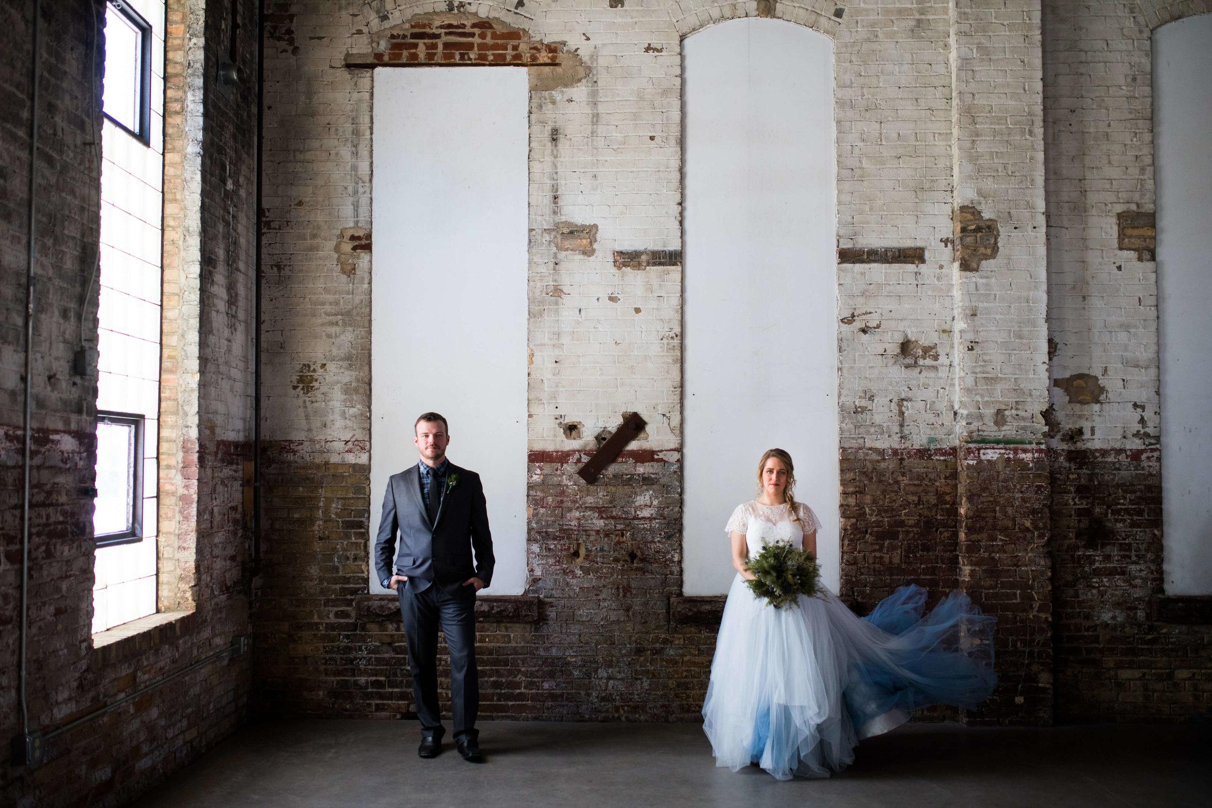 NP event space | blue tulle wedding dress | Minnesota wedding photographer Studio KH wedding dress details | wedding blog | Sixpence Events 70 Ways to Photograph Your Wedding Dress.jpg