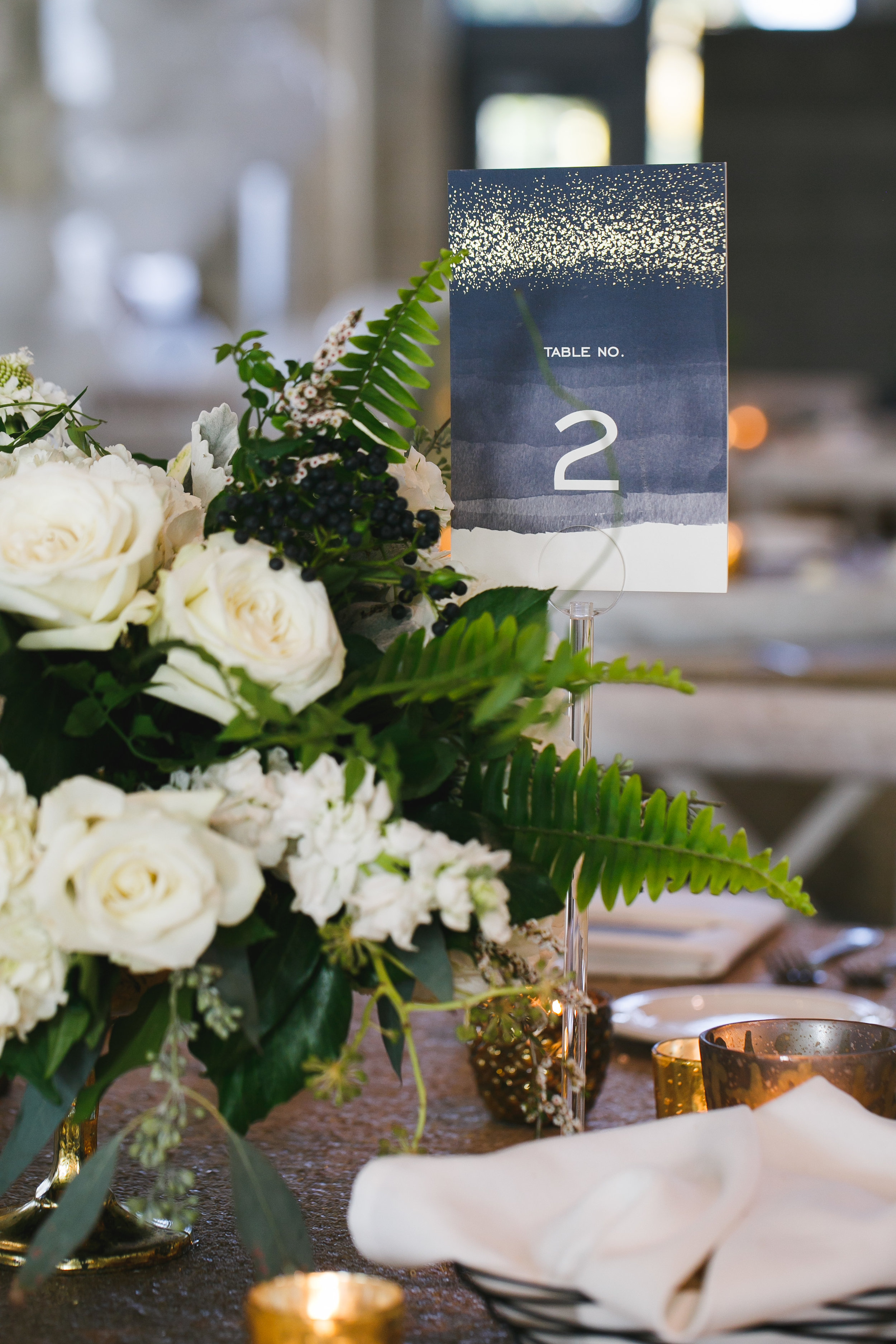 Brovado Wedding Photography | Machine Shop Minneapolis | Sixpence Events Day of Coordinating | Minted table number | studio C florals.jpg