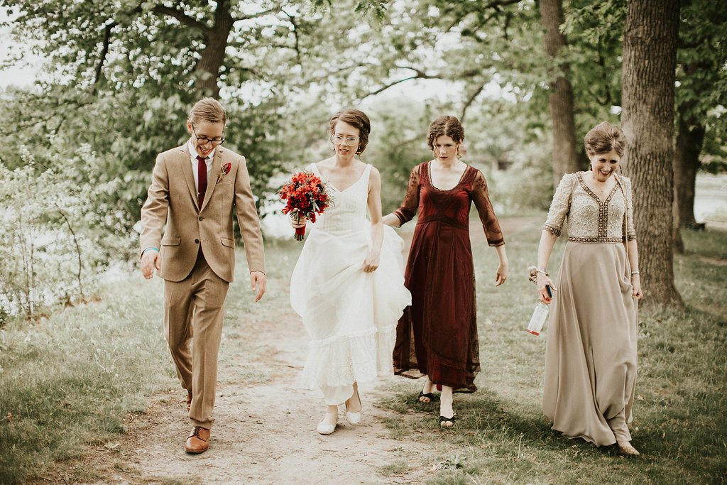 Mike + Cat :: Grace Byron Photography :: Sixpence Events, bridal party