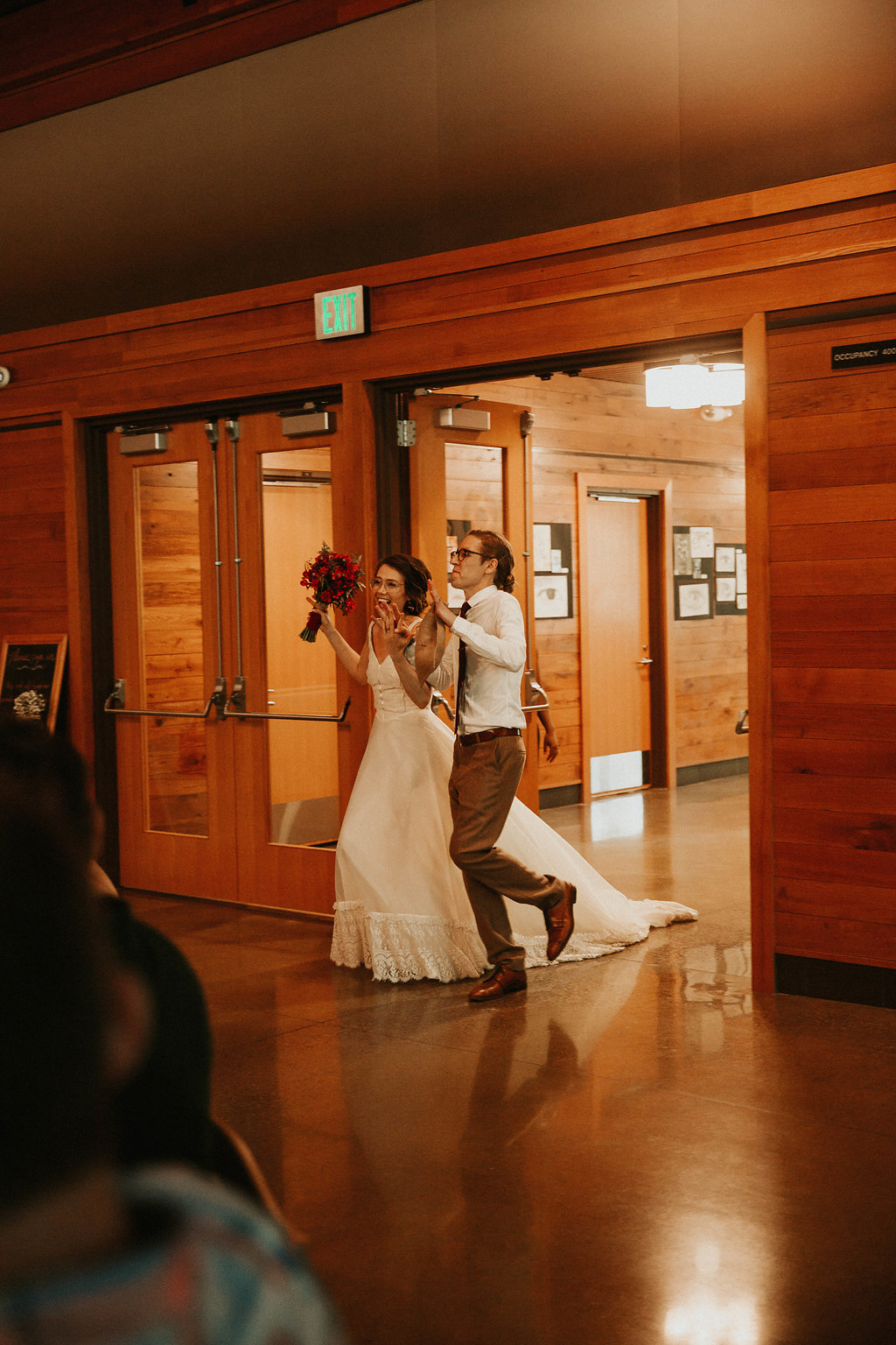 Mike + Cat :: Grace Byron Photography :: Sixpence Events, grand march