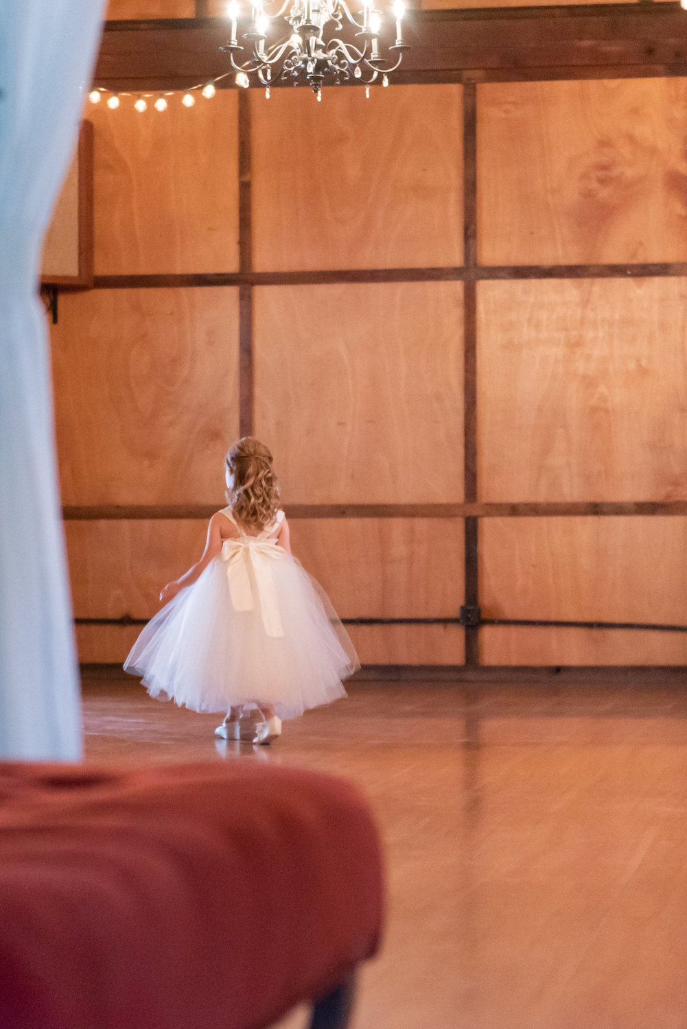 Sarah and Mark | Hope Glen Farm | Kelly Birch Photo | Sixpence Events & Planning wedding planning in Minnesota | flower girl ballet shoes and tutu