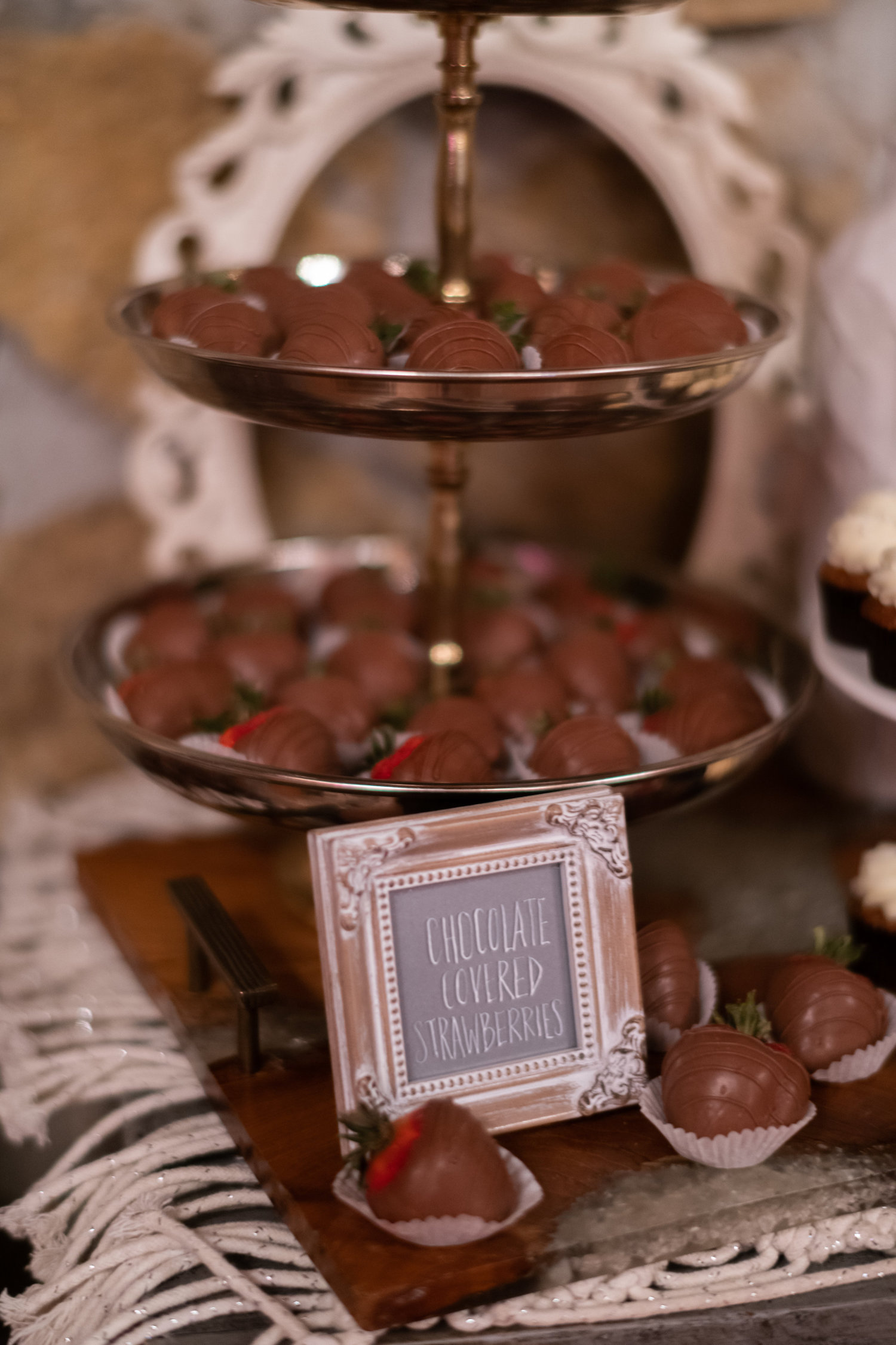 Sarah and Mark | Hope Glen Farm | Kelly Birch Photo | Sixpence Events & Planning wedding planning in Minnesota | chocolate covered strawberries