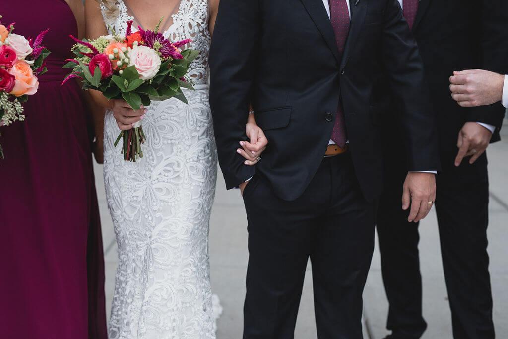Ashley and Tom | Mariah Brink Photo | Hyland Hills Wedding | Sixpence MN wedding planner | elegant wedding party