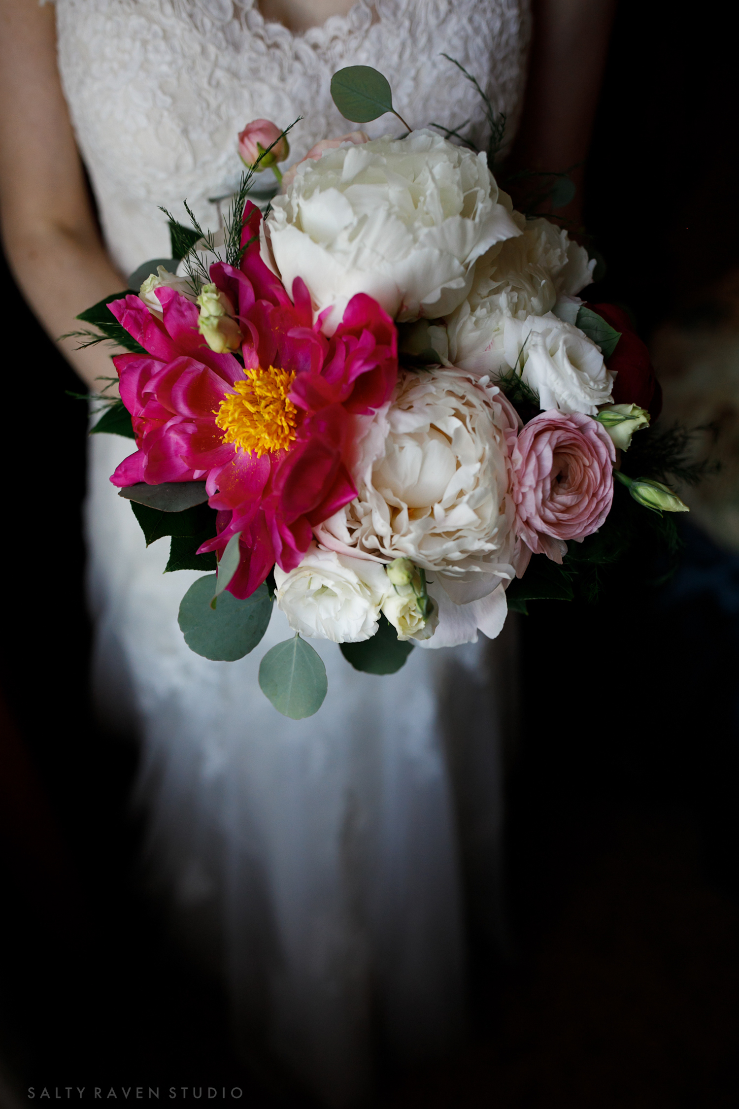 peony bridal bouquet small | Salty Raven Photography | PAIKKA | Sixpence Events | Eleanor and Aaron's wedding.jpg