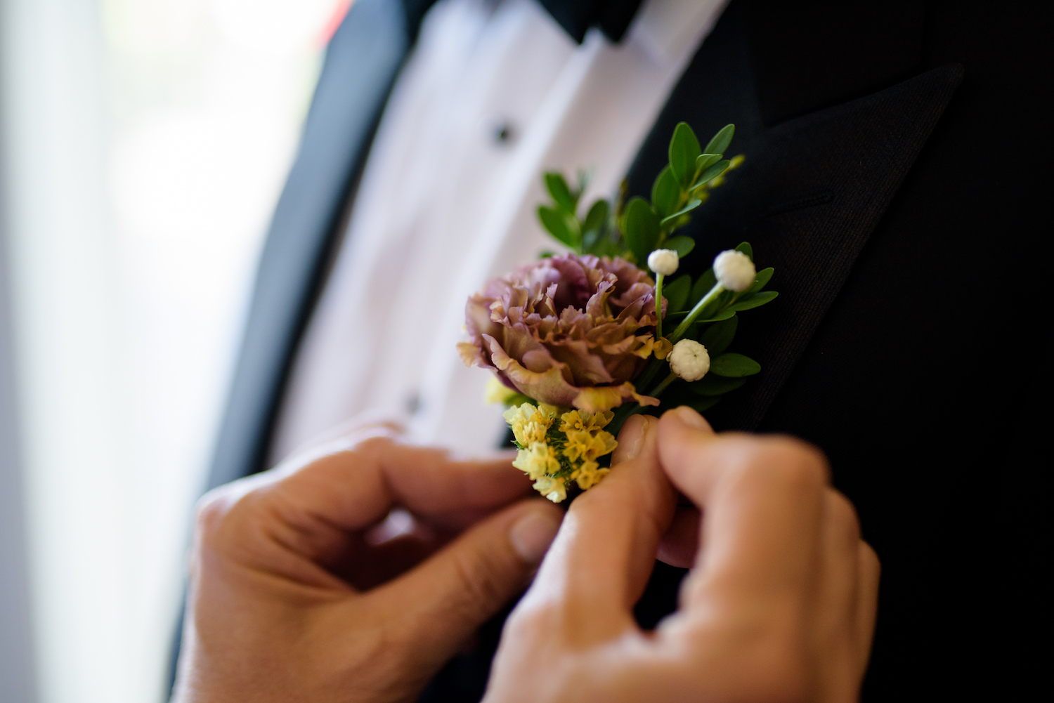 Lady Fern Flowers | local florist in Minneapolis | why you should hire a small florist | boutonniere