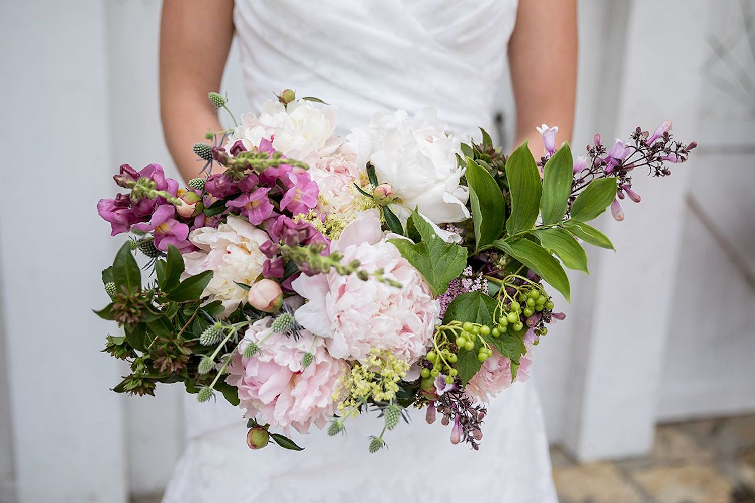 Lady Fern Flowers | local florist in Minneapolis | why you should hire a small florist | pale pink bridal bouquet