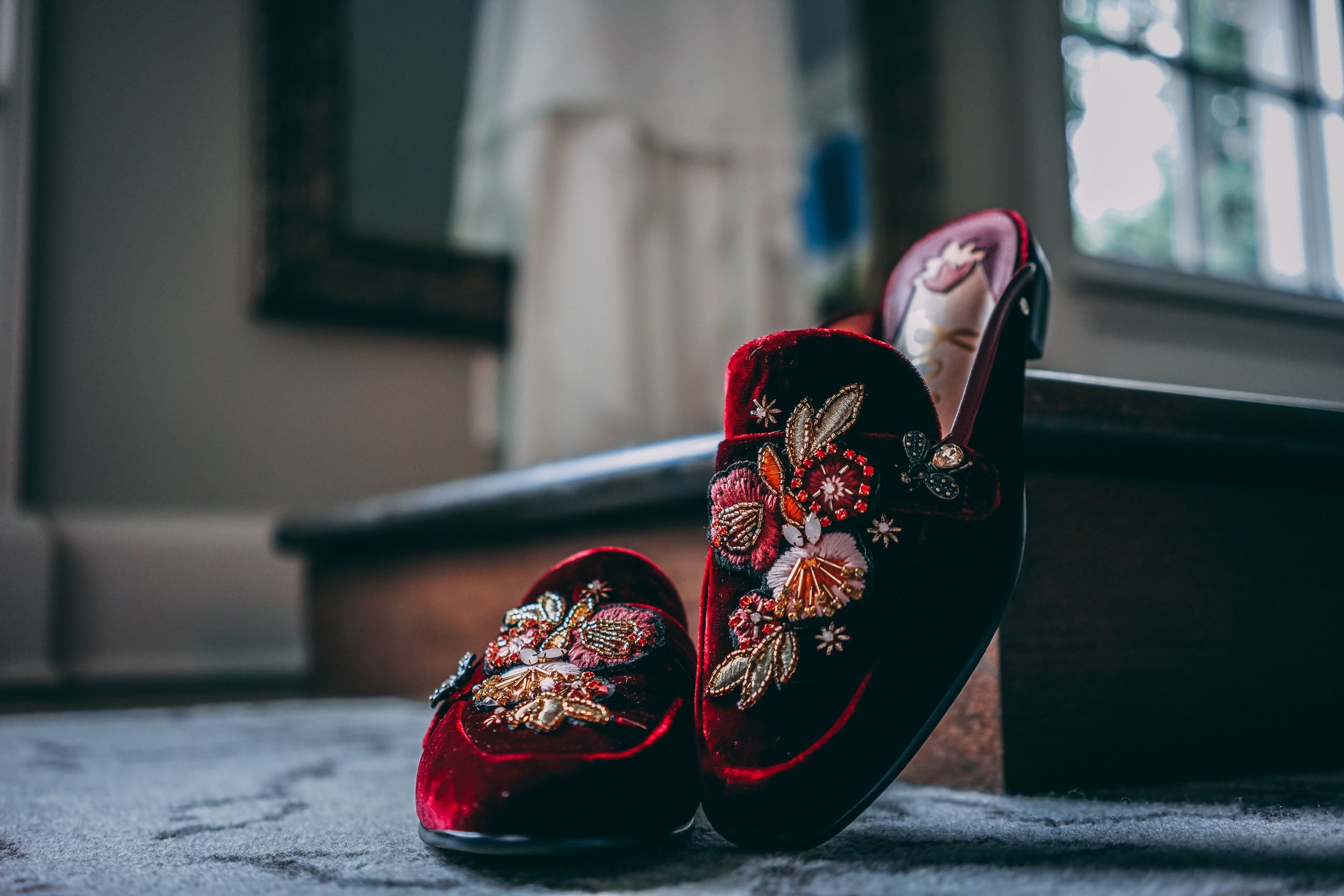 velvet loafers | Danny Photography | Minnesota wedding planner Sixpence Events | The Blaisdell