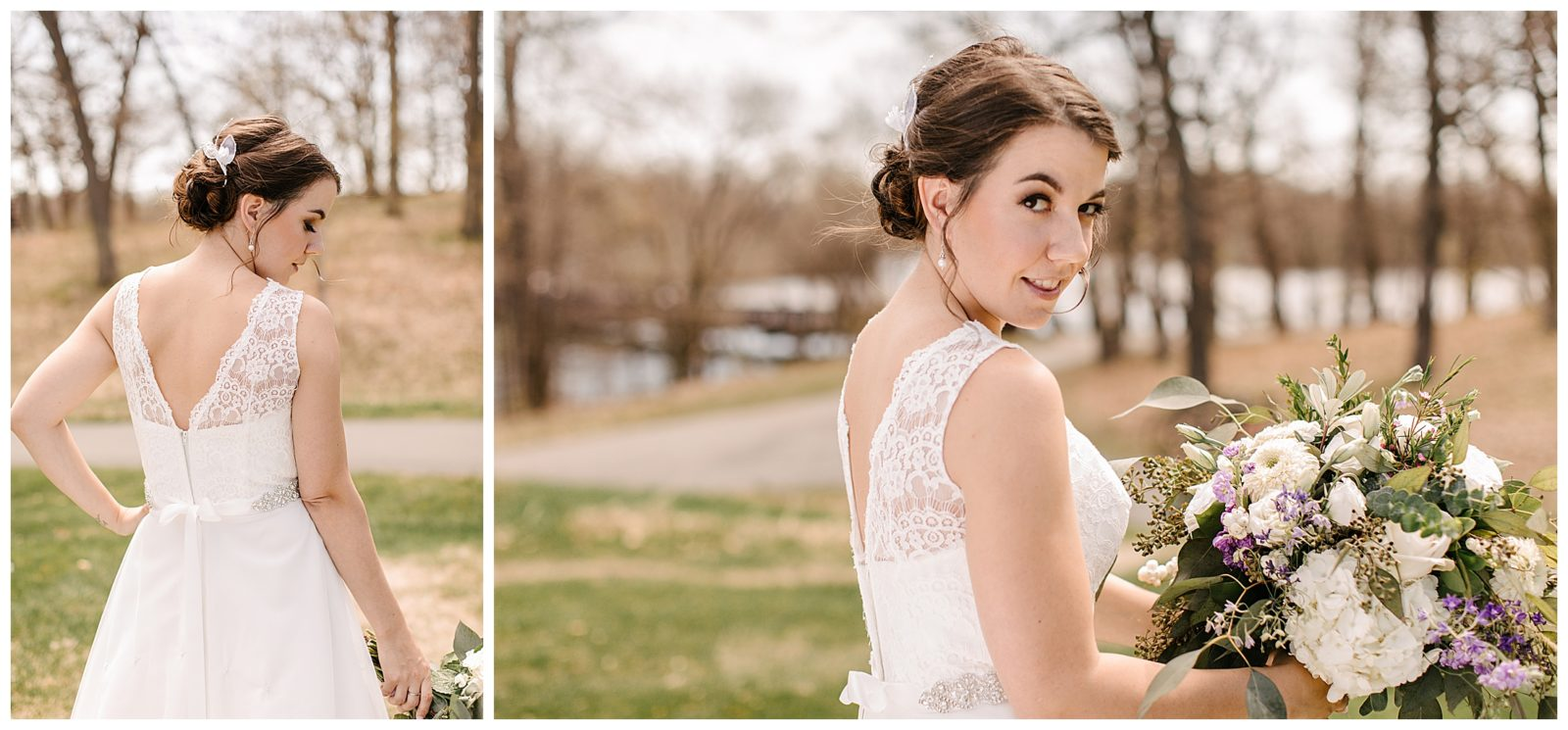 Silverwood Park wedding | May 4th wedding | Tigerlily Photography | Sixpence Events and Planning day of coordinating | bridal portraits