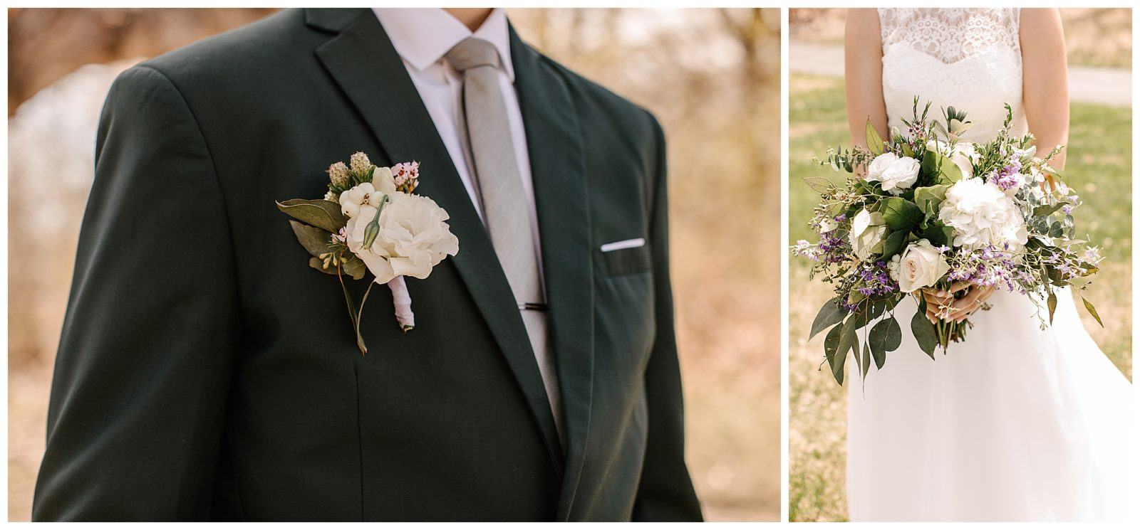 Silverwood Park wedding | May 4th wedding | Tigerlily Photography | Sixpence Events and Planning day of coordinating | green groom's suit