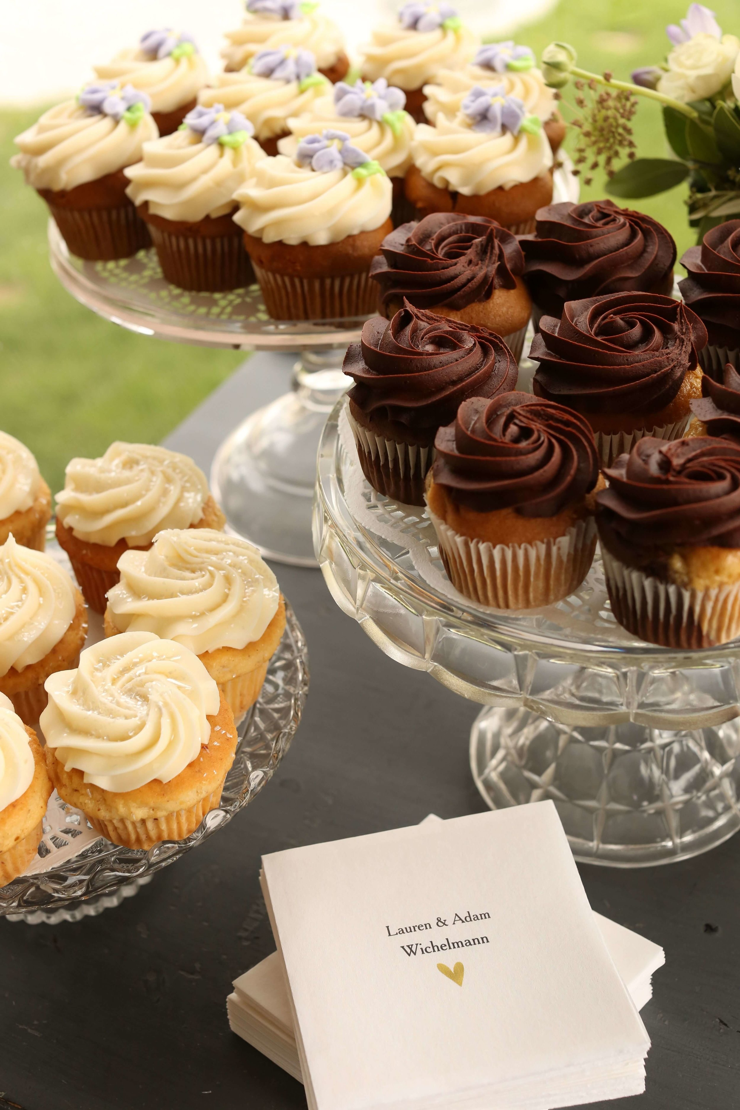 cupcakes and glass stands | Lauren + Adam - SIxpence Events and Planning - Legacy Hill Farm - Unique Touch Photography.jpg