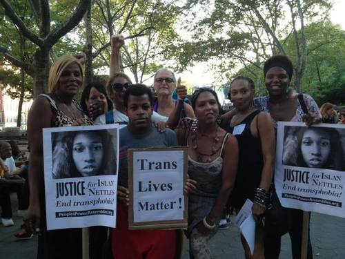 Still from  Trans Lives Matter: Justice for Islan Nettles