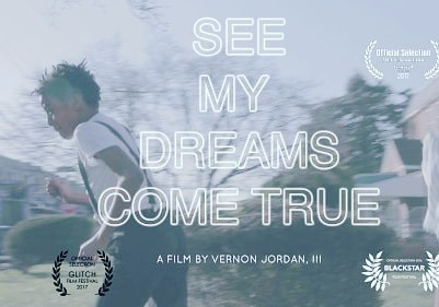 SEE MY DREAMS COME TRUE short film by @vernonjordaniii follows two ancestor spirit children who visit a young artist's dreams; and through their warping of time, through their joys, they push the young artist to confront his art. Watch the full short here:  https://vimeo.com/168076684