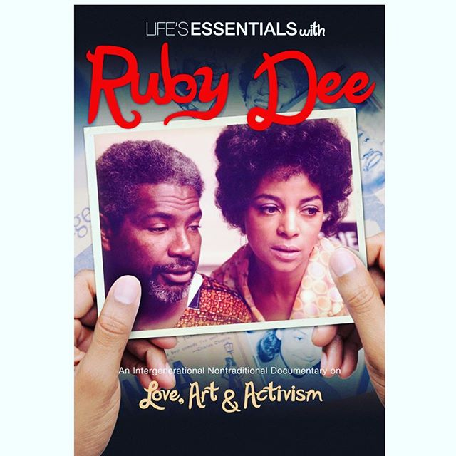 """Event Alert! A screening of the award-winning documentary film """"Life's Essentials with Ruby Dee"""" by Muta'Ali Muhammad will be held at New Rochelle: ArtsFest on Sunday October 6, 2019. Following the screening we will have a talkback with the director and Michelle Materre, founder and host of Creatively Speaking Film Series, now in its 25th year.  Time 3:00 PM – 5:30 PM EDT  Location Alvin & Friends Restaurant - back room 14 Memorial Highway New Rochelle, NY 10801  Register Now! (Link in Bio)"""