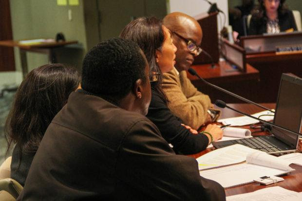 Margaretta Lin presenting at Richmond City Council