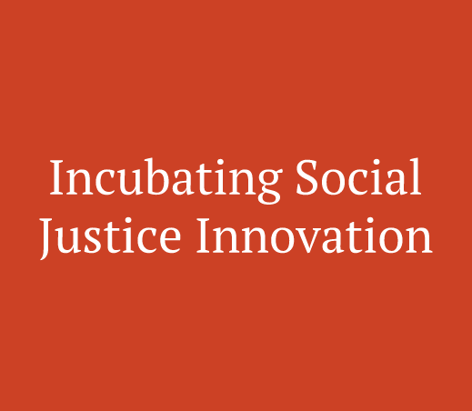 Incubation support for young people with social change ideas including networking, business plan, new financing, physical space, and pilot program support.