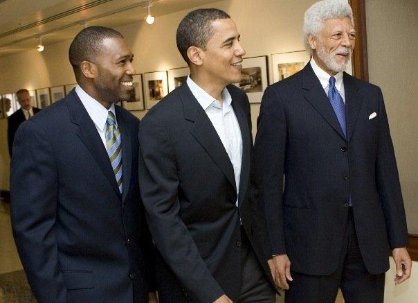 Ron with Barack Obama and Tony West.